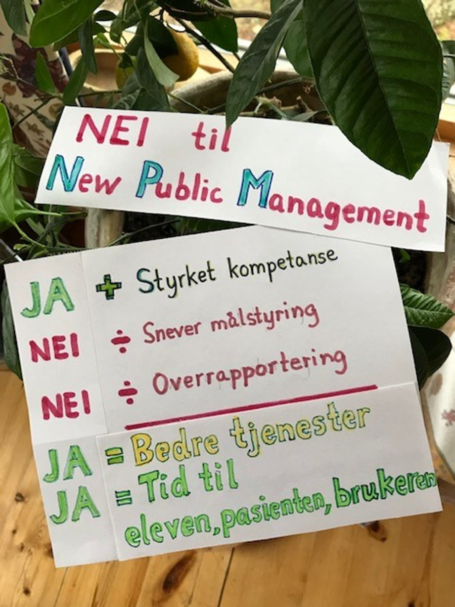 Nei til New Public Management